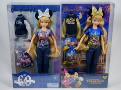 Shanghai Disney Resort Grand Opening 12 Inch Doll - With Disneyland 60th Anniversary 12 Inch Doll - Boxed - Front View (drj1828) Tags: us disneyland purchase 2015 12inch posable disneyparks boxed shanghaidisneyresort 2016 china