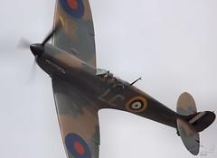 Supermarine Spitfire Mk.Ia (R9632) G-AIST Lee on Solent Airfield 2016 (SupaSmokey) Tags: supermarine spitfire mkia r9632 gaist lee solent airfield 2016