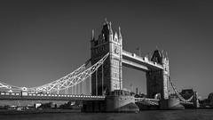 Tower Bridge | Iconic (James_Beard) Tags: towerbridge london londonskyline londonlandmarks landmark blackwhite icon thames bridge sonyrx100m3 clearskies