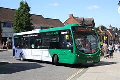 First Norwich, 63318 (SK65PWY) (Thomas O'Neill Transport Photos) Tags: first norwich wright streetlite max green line wymondham 63318 sk65pwy