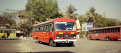 Mumbai  chikhali (yogeshyp) Tags: msrtc bus