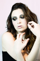 Giada. (coinophoby) Tags: love girl make up look 50mm photo reflex cool nice model nikon shoot room like pic piercing jade shooting figa giada d5100 nikond5100