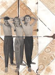 defiance (kurberry) Tags: brown collage cutpaste vintagecollage vintageephemera
