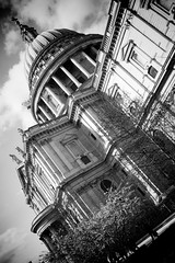 St Paul's (LRO_1) Tags: city greatbritain england blackandwhite london blackwhite nikon unitedkingdom stpauls cityoflondon d60 blackandwhitephoto nikond60 blackwhitephotos camerabag2