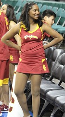 USC Cheerleader (bulgo125) Tags: college cheerleaders usc trojans