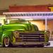 Custom Green Truck