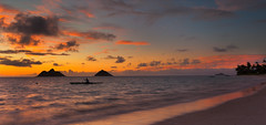 The Spirit of Lanikai (rayman102) Tags: panorama seascape sunrise landscape hawaii oahu coastal windward kailua lanikai mokuluaislands kaneohebay lanikaibeach