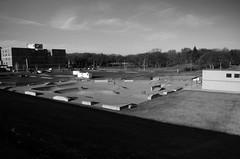 Concrete Jungle (j.caleb12) Tags: park city white black cityscape pentax skatepark skate density 18mm neutral k50