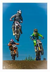 #96 #129 #32 (F. Peter Blank) Tags: jump cross peter blank anton dennis motocross 32 sprung lorenz 129 wichmann adac sbs 96 2015 fpb manching vesic beedaaah glonner