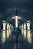Metróra várva (janostitkos) Tags: city man station waiting metro 4 budapest symmetry sittin állomás 4esmetró nx30 samsungnx