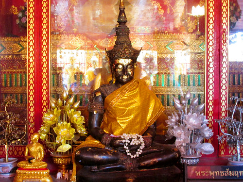 Buddha Image at Wat Phrathat Temple