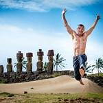 Ahu Nau Nau, Anakena Beach, Easter Island, Chile. thumbnail