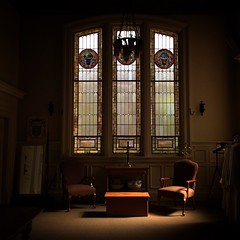 Large Sacristy in morning light