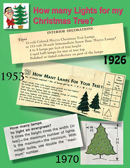 Recommended number of Christmas lights for you tree (JeffCarter629) Tags: ge generalelectric vintagechristmas generalelectricchristmas gechristmas gechristmaslights generalelectricchristmaslights