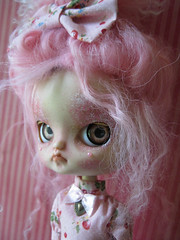 Angry Cupcakes (Pink Anemone) Tags: pink doll god dal more oh much too pinocchio repaint prettydreadfulcustombypinkanemone