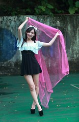 DP1U6894 (c0466art) Tags: school light portrait cute girl beautiful smile canon high eyes sweet outdoor gorgeous young large taiwan lovely charming 1dx  c0466art