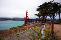 Golden Gate Bridge (William Vitin) Tags: sanfrancisco california bridge architecture bay nikon downtown landmarks area d600