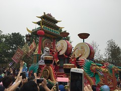 Mulan section (coconut wireless) Tags: china asia shanghai disneyland disney parade entertainment amusementpark pudong themepark sdp mulan mushu 2016 sdl treasurecove shdl shanghaidisneyland asia2016 mickeysstoryookexpress shdlp