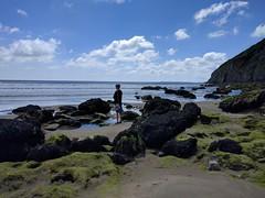 Pendine Sands (deadmanjones) Tags: rockpools zjlb seaside pendine pentywyn beach