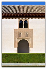 12.10.04.10.49.25 - Granada, Alhambra, Patio de los Arrayanes (Myrtenhof) (PROFI-LACK-TISCH) Tags: spanien spain europa europe weltkulturerbe worldheritage granada alhambra