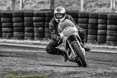 Croft-Bike Day-26th July-1 (Tony Raine) Tags: trackday blackandwhite motorcycle croft vintage historic motorsport croftcircuit