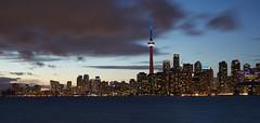 Skyline at sunset, Toronto Canada (travelthrumylens) Tags: toronto harbourfront skyline canada waterfront ontario