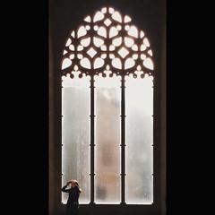 #window #light #gothic #architecture #valencia #lonjadelaseda #llotjadelaseda #silkexchange #worldheritage (.taz.) Tags: instagramapp square squareformat iphoneography uploaded:by=instagram lark valencia silkexchange lonjadelaseda llotjadelaseda spain window interior architecture light gothic