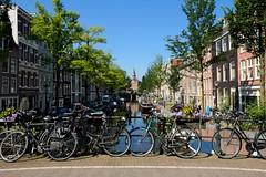 Bloemgracht, Amsterdam (elhawk) Tags: canal bikes bicycle amsterdam bloemgracht