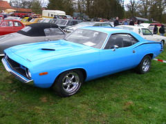 Plymouth Barracuda 340 1972-74 (Zappadong) Tags: auto classic car 1974 automobile plymouth voiture coche classics oldtimer 1972 cuda oldie barracuda 1973 carshow 340 youngtimer 2016 automobil oldtimertreffen 197274 ellringen zappadong