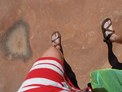 Chaco walkers (EllenJo) Tags: arizona feet sandstone pentax sandals sedona az slickrock cathedralrock verdevalley chacos ellenjo mychacos summerinaz pentaxqs1 july2016