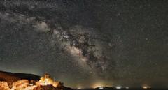 A Panoramic Skyscape (n.pantazis) Tags: light sky panorama night dark skyscape stars island islands nightscape pentax panoramic greece tamron andros cyclades ogps1 pentaxk30