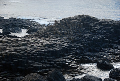 The striking hexagonal basalt rock formations of Giant's Causeway in Northern Ireland, UK (albatz) Tags: hexagonal basalt rockformations causeway northernireland uk giantscauseway ireland