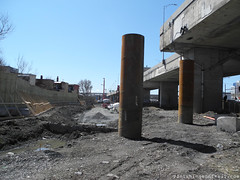 Construction Turcot (Vanishing Montral) Tags: history villedemontreal montreal histoire photography art architecture demolition disappearinghistory newconstruction
