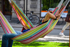 Relaxing (Maria Eklind) Tags: street city lund se sweden sverige cityview skneln