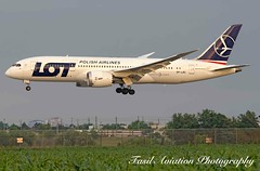LOT Boeing 787-8 Dreamliner SP-LRC (MSN007) Tags: airplane airport aircraft air jet lot boeing airways airlines airliner yyz dreamliner 7878 cyyz splrc