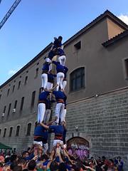 Castellers d'Esplugues, plaa de la Gardunya (Cargolins) Tags: castells castellers esplugues cargolins barcelona plaadelagardunya boqueria 2016