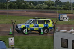 On patrol. (aitch tee) Tags: aircraft vehicle arrivals royalinternationalairtattoo raffairford modpolice riat2016 thursday7july2016