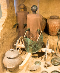 IMG_4769 (jaglazier) Tags: 2016 680bc670bc 72016 7thcenturybc adults archaeologicalmuseums bronzeworking burials carts ceramics chariots copyright2016jamesaglazier crafts cups etruscan gravegoods italy july july2016 lazio men metalsculpture museonazionaleetruscodivillagiulia museums nationalmuseums orientalizing osteria religion rituals roma rome tombs transport triangles vulci art bronze funerary metalworking necropolis patera reliefs repousse sculpture tombfurnishings unglazed