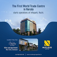 The First World Trade Centre in Kerala has started operations at Infopark, Kochi located 5 Kms from Nucleus Heyday. The tower II of the project is in progress and will be ready by 2017.   #Kerala #Kochi #India #Technology #Architecture #Home #Construction (nucleusproperties) Tags: life beautiful technology kochi elegant style kerala realestate lifestyle india luxury villa comfort apartment nature architecture interior gorgeous design elegance environment beauty building exquisite view city construction atmosphere home living