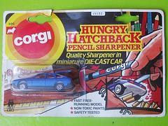 Hungry Hatchback (streamer020nl) Tags: greatbritain pencil toys corgi model jr 200 junior gb juniors sharpener diecast jouets hungryeater spielwaren mettoy hungryhatchback