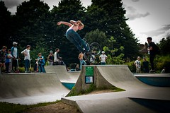 Walthamstow garden party (jeremybagel) Tags: walthamstow garden party bmx skateboard skate park e17 london