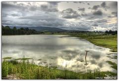 Cloudy lake (Olivia Heredia) Tags: tlaxcaladexicohtncatl nanacamilpa tlaxcala lagunaazul lucirnagas paisaje exteriores nublado nubes lake lago sunset atardecer mxico mexico familia family oliviaheredia hdr highdynamicrange 1exp tonemapping tonemapped oliviaherediaotero