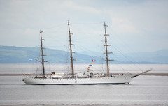 Ara Libertad (Peter Owen) Tags: crosby blundellsands beach aralibertad tallship ship sailingship sailing sail