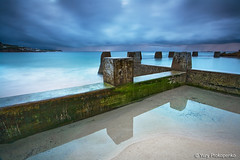 Googee Pool (renatonovi1) Tags: coogee sydney nsw australia poolbeach ocean rock sky storm clouds sea seascape