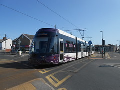 Flexity 004 (ee20213) Tags: blackpooltransport cleveleys blackpooltramway flexity2 blackpooltrams bombardier 004