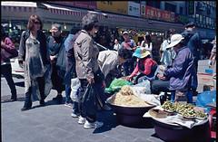 Street Food seller - Dongdaemun - Seoul Korea (waex99) Tags: 100iso color coree ekta epson kodak korea leica seoul south sud film m4 v500 dongdaemun food 2016 may