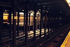 SPEEDING DOWN BROADWAY - 3 (drizzphotogenic) Tags: nycsubway nycta photogenic slowshutter slowshutterspeed awesome striking eyecandy artistic cityart cityrush rushhour streetphotographer