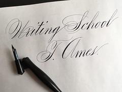 IMG_4470 (xelo garrigs) Tags: caligrafa calligrafia calligraphy pointedpen spencerian penmanship ornamentalscript