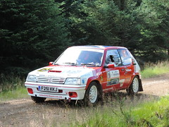 Grampian Stages Rally 2016 (RS Pictures) Tags: grampian coltel stages rally 2016 scottish championship src motorsport ss2 durris stage forest forestry road track peugeot 205 auto