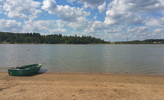"""From the """"2 lakes swimming tour"""" yesterday... Lake Boat Beach Rowing Boat    at  (Almena14) Tags: lake boat beach rowingboat"""